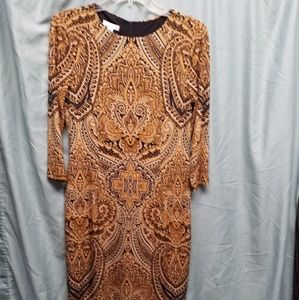 London Times paisley dress